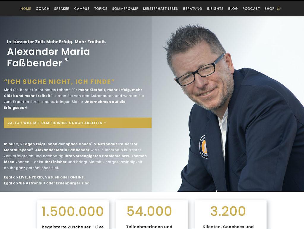Webseite der MPS Austria