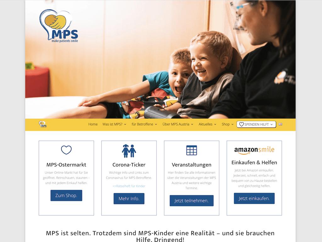 Webseite MPS-Austria
